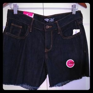 Old Navy Flirt short dark wash size 4 NWT